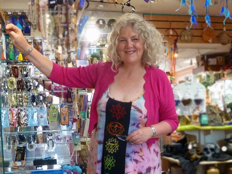 shopkeeper in a shop