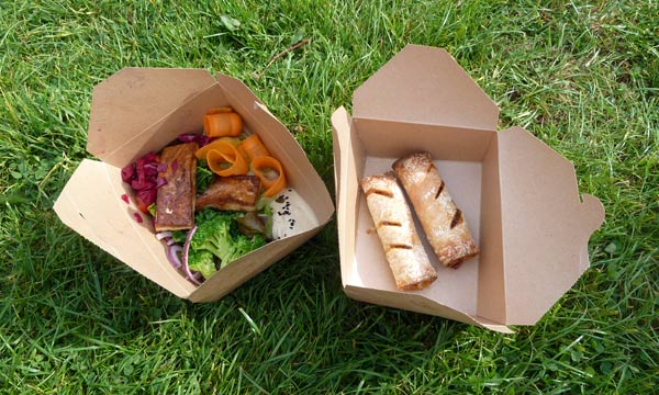 take away lunch from Peach